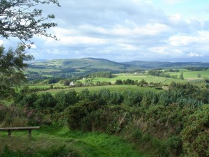 Selkirk, Scottish Borders. A photo taken by Liz on one of her trips. @ Liz Curtis Higgs