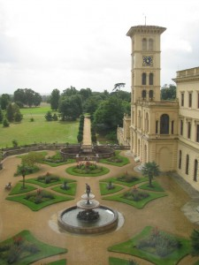 A house fit for a queen. Osborne House on the Isle of Wight.