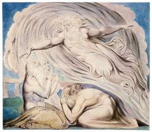 The Lord Answering Job Out of the Whirlwind, William Blake (public domain)