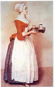 Photo: Jean-Etienne Liotard: The Chocolate Pot