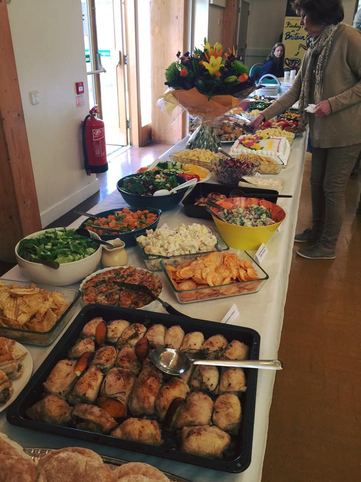 What a fantastic spread.