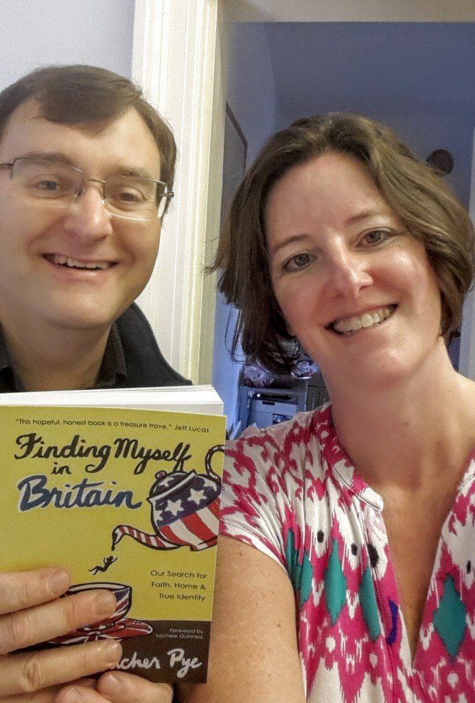 Me and NicTheVic on the day my book-baby arrived. Without him there would have been no story to tell!