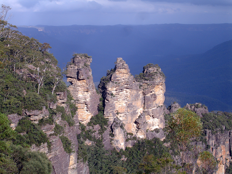Back in Australia - Blue Mountains