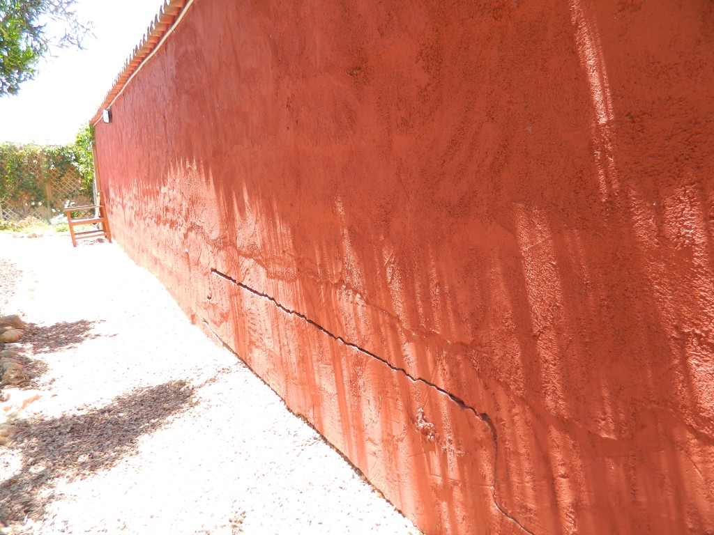 The wall we used as our wailing wall in Spain.
