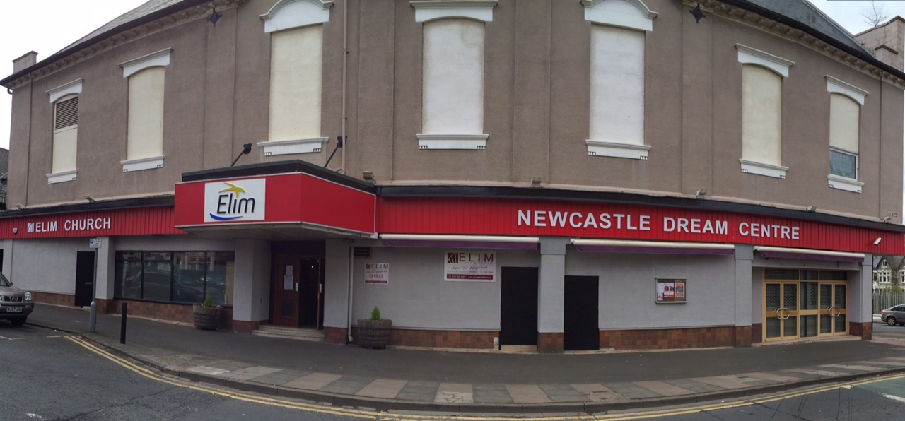 The Dream Centre, where Simon is a pastor. I love the story how their church swapped places with a dying bingo hall in Newcastle. Hooray for God's message of love and grace!