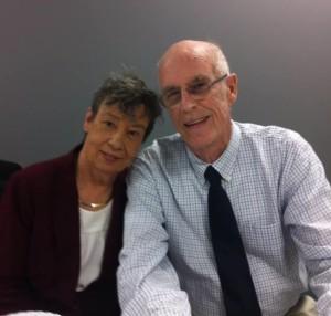 Katharine's parents.
