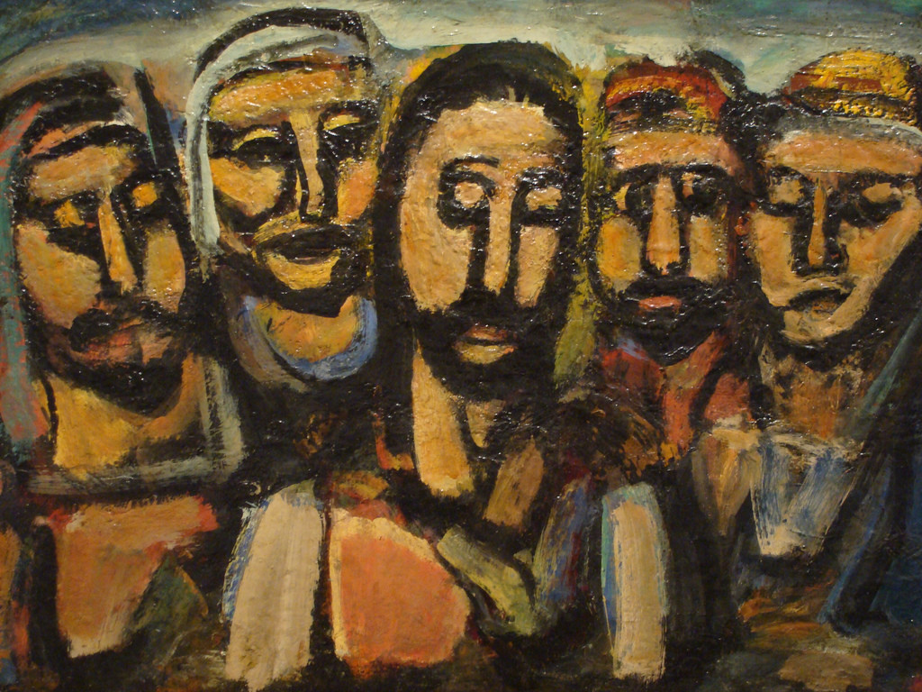 Photo: Rouault's Christ And The Apostles, Ben Sutherland, flickr