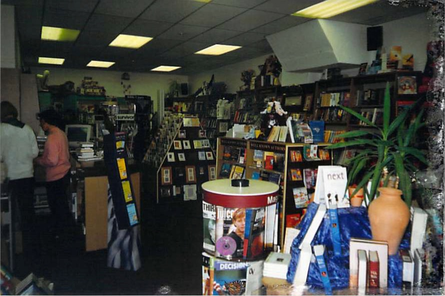 A look into Steve's retail store, back in the day.