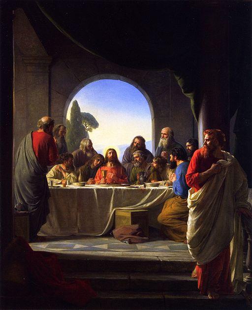 """""""The Last Supper,"""" Carl Heinrich Bloch"""