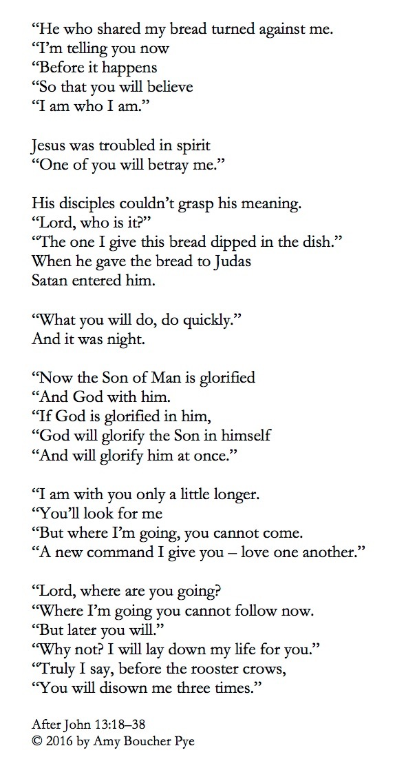 The betrayal poem (1)