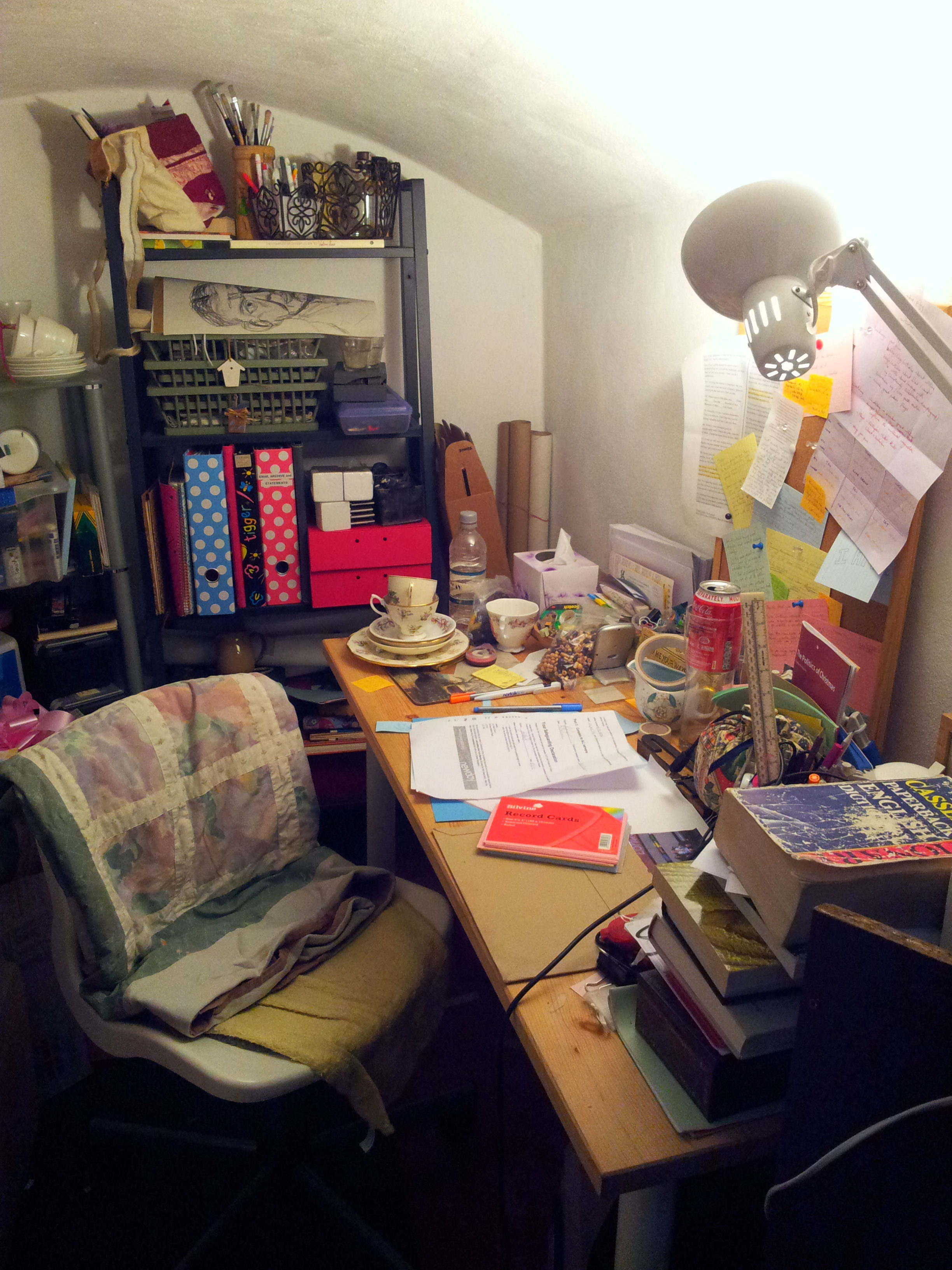 My writing cave.