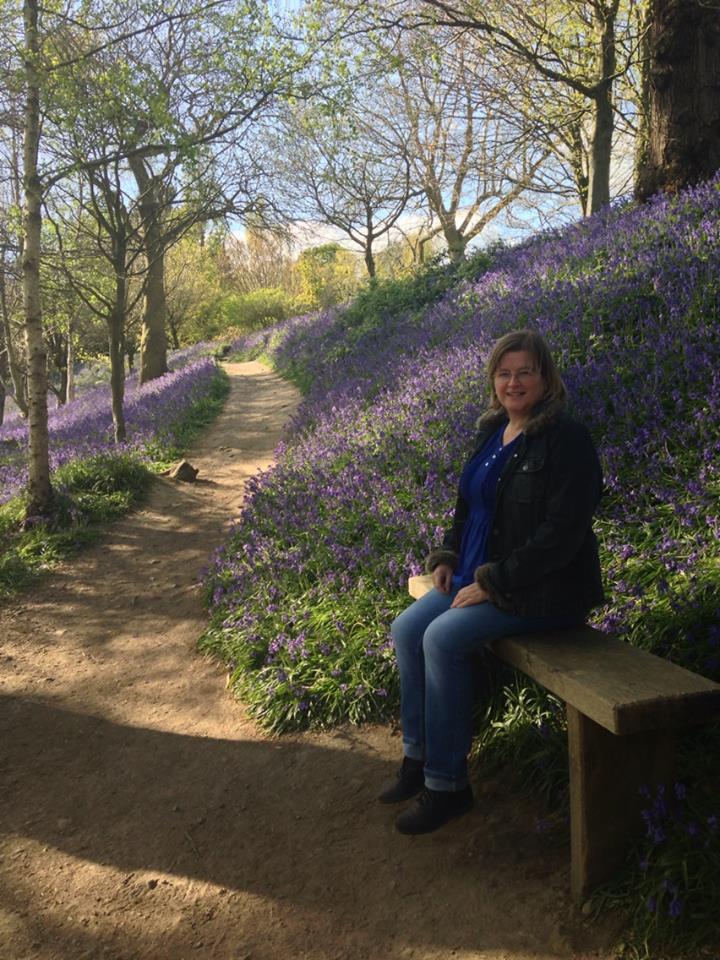 A favourite beauty spot near home, Emmetts Garden in Kent.