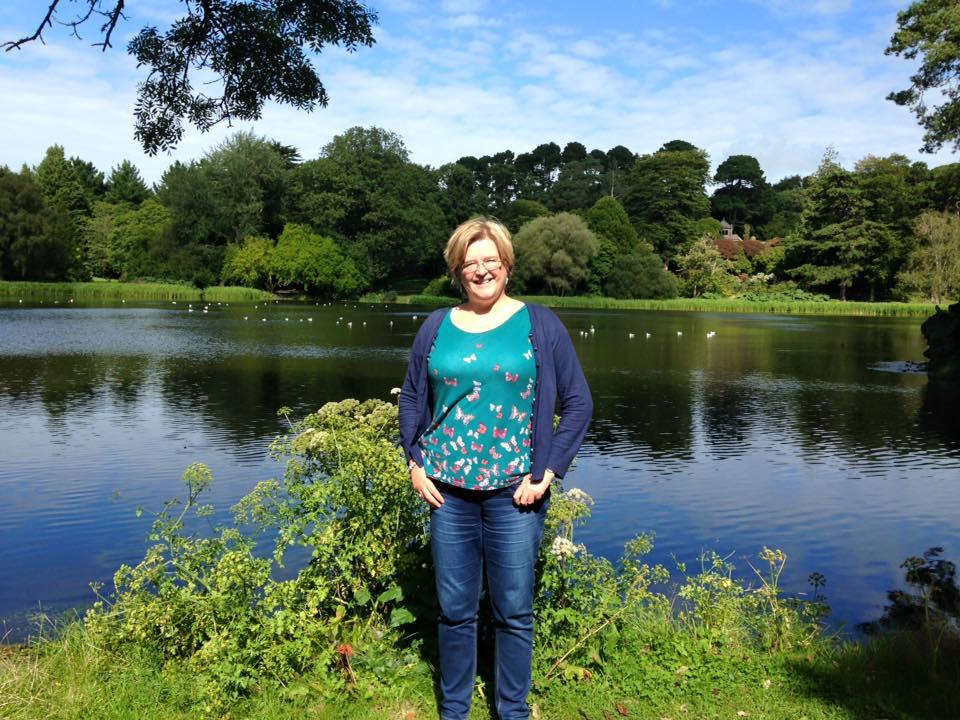 At Mount Stewart gardens in Northern Ireland.