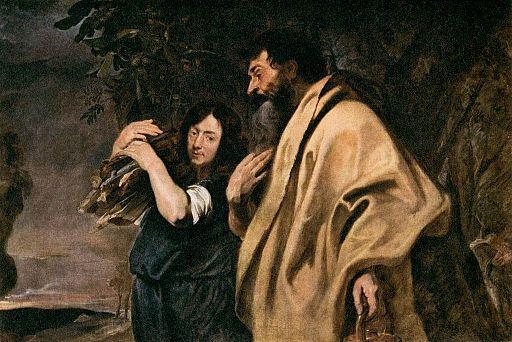 Anthony van Dyck, Abraham and Issac