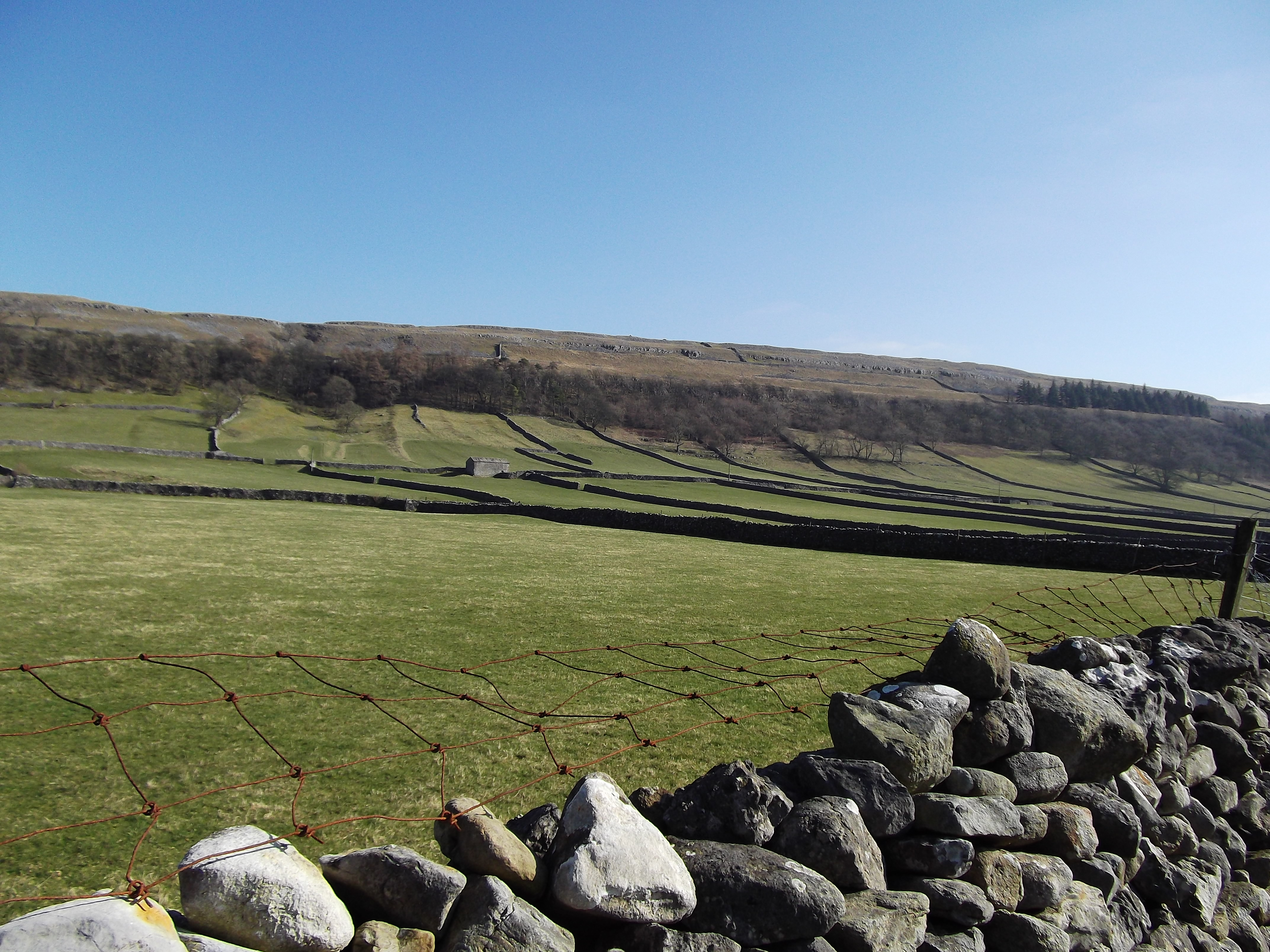 A wide open space - Wharfedale.